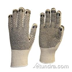 PIP - 36-C330PDD/L - Heavy Weight Cotton/Polyester Gloves w/ Dotted Coating (L) image