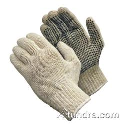 PIP - 37-C110PD/L - Medium Weight Cotton/Polyester Gloves w/ Dotted Palm (L) image