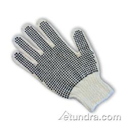 PIP - 37-C110PDD/L - Medium Weight Cotton/Polyester Gloves w/ Dotted Coating (L) image