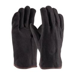 PIP - 95-864 - Brown Heavy Weight Men's Fabric Gloves (L) image