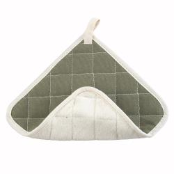 Winco - PH-8B - 8 in x 8 in Terry Cloth Hot Pad image