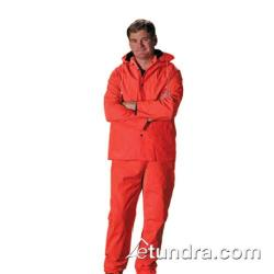 PIP - 201-360L - Orange Rainsuit w/ Bib Overalls (L) image