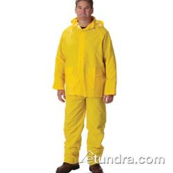 PIP - 201-370X1 - Yellow-Lime Rainsuit w/ Bib Overalls (XL) image
