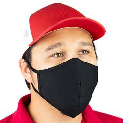 KNG - 3790BLK - Black Reusable Face Mask image