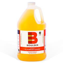 Boulder Cleaners - NEW-APC-1G-4CS - BOULDER® Valencia Orange All-Purpose Cleaner image
