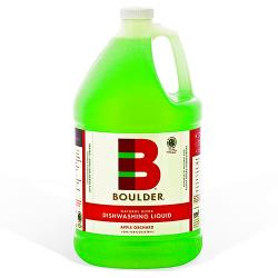 Boulder Cleaners - NEW-DISH-A-1G-4CS - BOULDER® Apple Orchard Dishwashing Liquid image