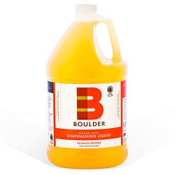 Boulder Cleaners - NEW-DISH-V-1G-4CS - BOULDER® Valencia Orange Dishwashing Liquid image
