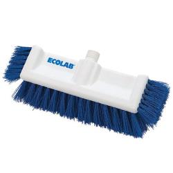 Ecolab - 89990051 - 10 in Blue Dual Surface Deck Brush image