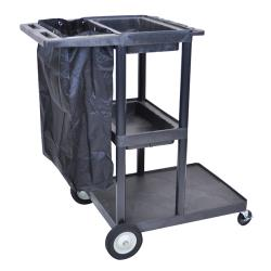 "Luxor - JCB30 - 48""H Janitorial Cart image"