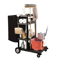 "Luxor - JCB40 - 50""H Janitorial Cart image"