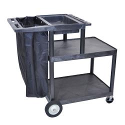 "Luxor - MSB42 - 42""H Janitorial Cart image"