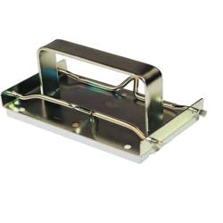 Winco - GBH-2 - 7 in x 3 1/2 in Griddle Brick Holder image