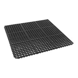Cactus Mat Co. - 2523-C - 3 ft x 3 ft x 1/2 in Black Floor Mat image