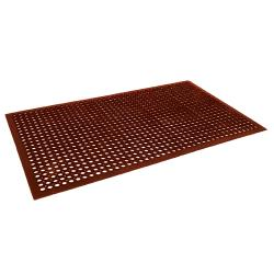 Cactus Mat Co. - 2530-R5 - 3 ft x 5 ft x 1/2 in Red Floor Mat image