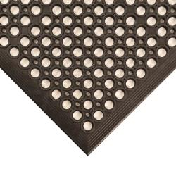 NoTrax - T14S0035BL - 3 ft x 5 ft Black Tek-Tough Jr.® Floor Mat image