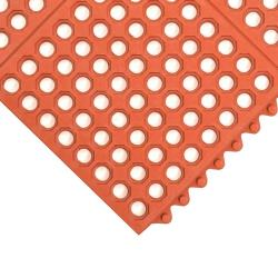 NoTrax - T32S0033RD - 3 ft x 3 ft Red Ultramat® Floor Mat image
