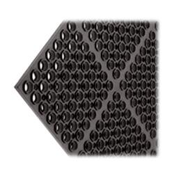 San Jamar - KM2100B - Tuf-Mats Medium Duty Black Floor Mat image