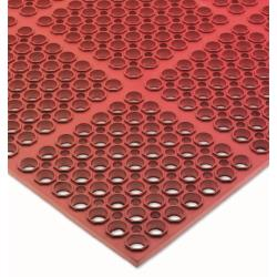 San Jamar - KM2200B - Tuf-Mats Medium Duty Red Floor Mat image