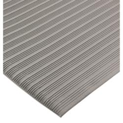 San Jamar - KM4360GY - 3ft x 60 ft Anti-Fatigue Grey Floor Runner image