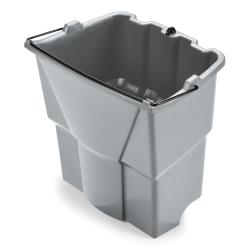 Rubbermaid - 2064905 - 18 qt Gray Executive WaveBrake® Dirty Water Mop Bucket Insert image