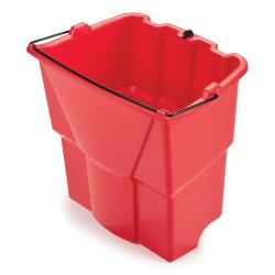 Rubbermaid - 2064907 - 18 qt Red WaveBrake® Dirty Water Mop Bucket Insert image