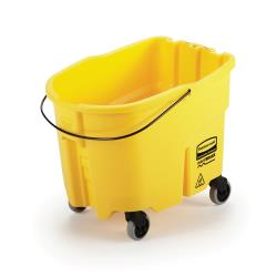 Rubbermaid - 2064914 - 35 qt Yellow WaveBrake® Mop Bucket image
