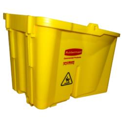 Rubbermaid - FG6185M2YEL - 44 qt WaveBrake® Mop Bucket image
