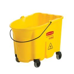 Rubbermaid - FG757088YEL - 35 qt WaveBrake® Mop Bucket image