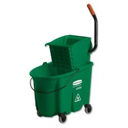 Rubbermaid - FG758888GRN - 35 qt Green WaveBrake® Mop Bucket image