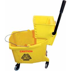 Winco - MPB-36 - 36 qt Mop Bucket and Wringer image