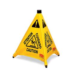 Rubbermaid - FG9S0000YEL - Pop-Up Wet Floor Sign image