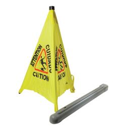 Thunder Group - PLFCS332 - Yellow Safety Pop-Up Cone image