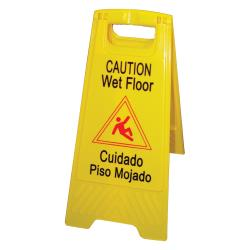 Winco - WCS-25 - Wet Floor Caution Sign image