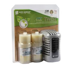 San Jamar - WP1202TW - Tropic Wave Arriba Twist Air Freshener image