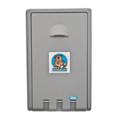 Koala - KB101-01 - Grey Vertical Mount Baby Changing Station image