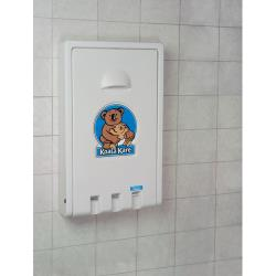 Koala - KB101-05 - White Granite Vertical Mount Changing Station image