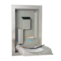 Koala - KB111-SSRE - Recess Mount SS Vertical Mount Baby Changing Station image