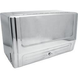 "Continental Mfg. - 630C - 13"" Chrome Single Fold Paper Towel Cabinet image"