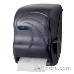 San Jamar - T1190TBK - Oceans Black Lever Roll Towel Dispenser image