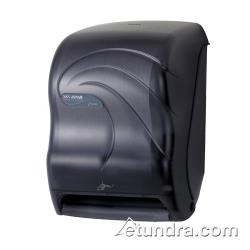 San Jamar - T1490TBK - Smart System Oceans Black Towel Dispenser image