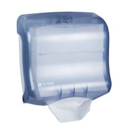 San Jamar - T1750TBL - Ultrafold Blue Folded Towel Dispenser image