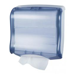 San Jamar - T1755TBL - Ultrafold Fusion Blue Folded Towel Dispenser image