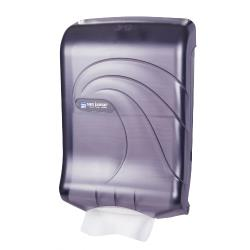 San Jamar - T1790TBK - Ultrafold Oceans Black Folded Towel Dispenser image