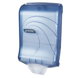 San Jamar - T1790TBL - Ultrafold Oceans Blue Folded Towel Dispenser image