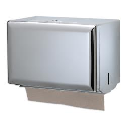 San Jamar - T1800XC - Single Fold Chrome Towel Dispenser image