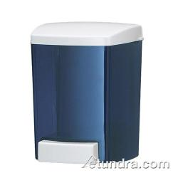 San Jamar - S30TBL - Bulk 30 Oz Liquid Soap Blue Dispenser image