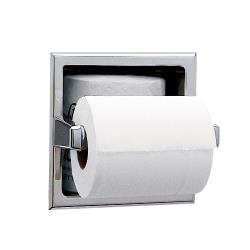 Bobrick - B-6637 - Recessed Toilet Tissue Dispenser with Storage Space image
