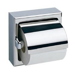 Bobrick - B-66997 - Surface-Mounted Satin Finish Single Toilet Tissue Dispenser with Hood image