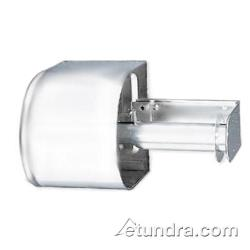 San Jamar - R1500WH - Twin White Covered Bath Tissue Dispenser image