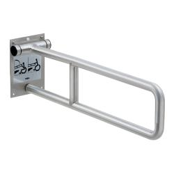 Bobrick - B-4998 - Swing-Up Satin Stainless Steel Grab Bar image